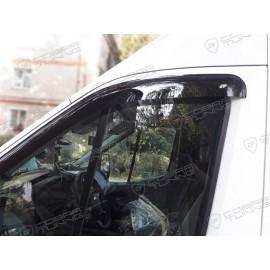 Отзыв - ветровики Кобра Тюнинг на окна Форд Транзит 2014