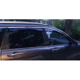 Отзыв - ветровики Cobra Tuning на окна автомобиля Haval H6 5d 2015
