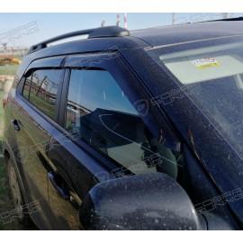 Отзыв - ветровики Cobra Tuning на окна автомобиля Hyundai Creta 5d 2016