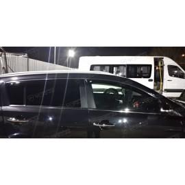 Отзыв - ветровики на окна Киа Спортейдж 3 евростандарт с хромированной полосой
